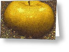 Mosaic Apple Greeting Card