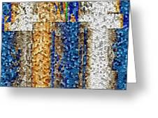 Mosaic Magic Greeting Card