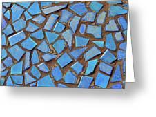 Mosaic No. 31-1 Greeting Card