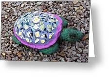 Mosaic Turtle Greeting Card