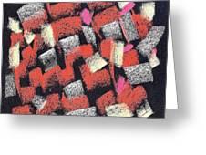 Mosaics Multicolor Greeting Card