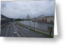 Moscow 17 Greeting Card