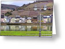German Wine Country Greeting Card