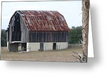 Moss Bluff Barn Greeting Card