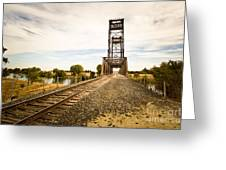 Mossdale Rails Greeting Card