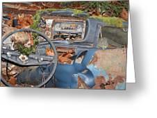 Mossy Datsun Greeting Card