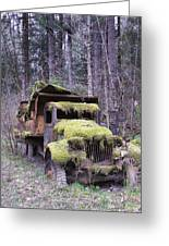 Mossy Truck Greeting Card