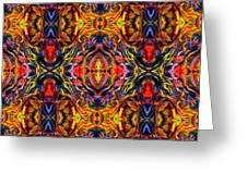 Mostique Tile Greeting Card