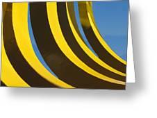 Mostly Parabolic Greeting Card