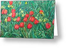 Mostly Tulips Greeting Card