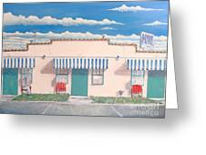 Motel Six . 1989 Greeting Card by Wingsdomain Art and Photography