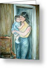 Mother And Child 2 Greeting Card