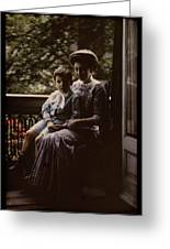 Mother And Child. Johannes Hendrikus Antonius Maria Lutz, 1907 - 1916 Greeting Card