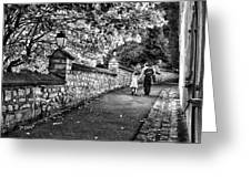 Mother And Daughter-france Greeting Card