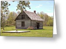 Mother Barnes House Greeting Card