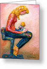 Mother Bonding I Greeting Card
