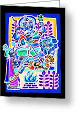 Mother Deity Greeting Card
