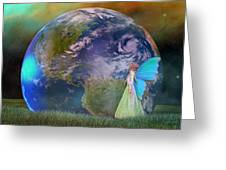 Mother Earth Series Plate3 Greeting Card