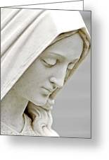 Mother Mary Comes To Me... Greeting Card