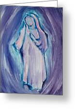 Mother Mary Essence Greeting Card
