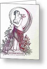 Mother Nature 3 Greeting Card