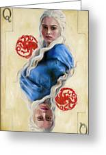 Mother Of Dragons Greeting Card