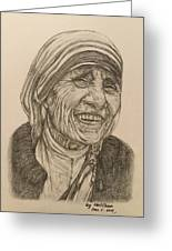 Mother Theresa Kindness Greeting Card