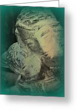 Mother With Infant Greeting Card