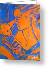 Motherhood II Greeting Card