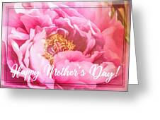 Mother's Day Peony Greeting Card