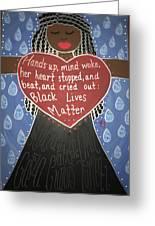 Mothers Of Black Lives Matter  Greeting Card