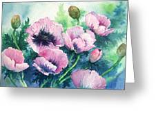 Mother's Prize Poppies  Greeting Card