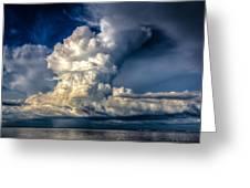 Mothership Thunderstorm  Greeting Card