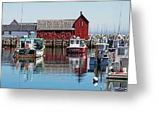Motif #1, Rockport Ma, 1 Greeting Card