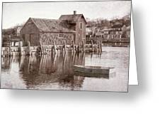 Motif Number 1 - Black And White Greeting Card