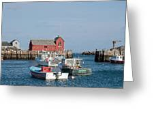 Motif Number 1 Rockport Ma Greeting Card