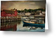 Motif Number One Greeting Card by Robin-Lee Vieira
