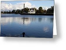 Motlawa River Gdansk Greeting Card