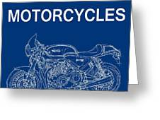 Moto Quotes Greeting Card