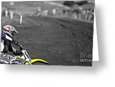 Motocross Slingshot Greeting Card