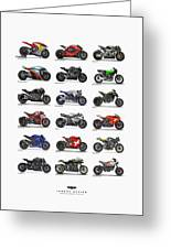 Motorcycle Concepts 2017-2018 Greeting Card
