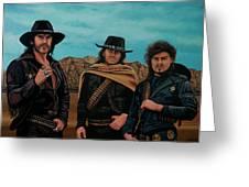 Motorhead Painting Greeting Card