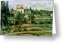 Moulin De La Couleuvre At Pontoise Greeting Card