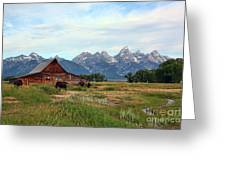 Moulton Barn Greeting Card