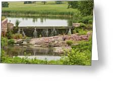 Mound Lake Dam 2 Greeting Card