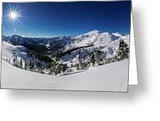Mount Baker 2 Greeting Card