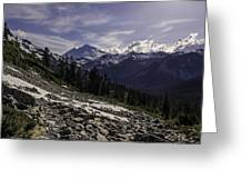 Mount Baker From The Lake Ann Trail 2 Greeting Card