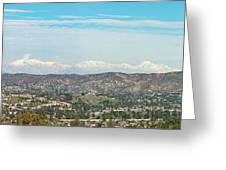 Mount Baldy And Mountain High Greeting Card