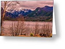 Mount Baldy From Point Park Greeting Card by Tom Potter