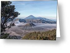 Mount Bromo National Park - Java Greeting Card